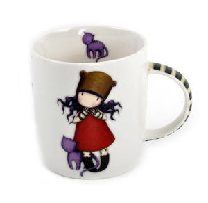 Gorjuss Mug Purrrrrfect Love Thumbnail 2