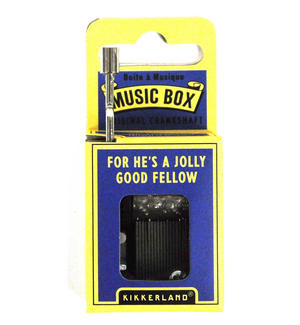 For He's A Jolly Good Fellow Music Box