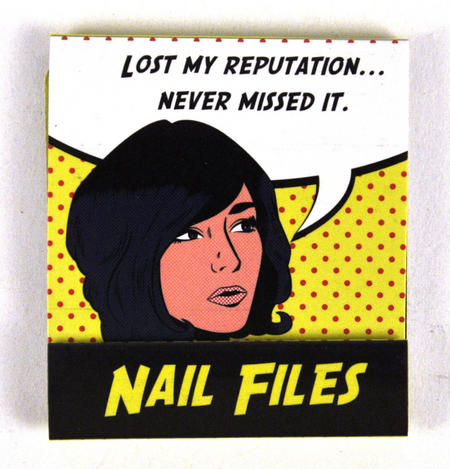 Pop Art Nail Files Lost My Reputation. Neve Missed It
