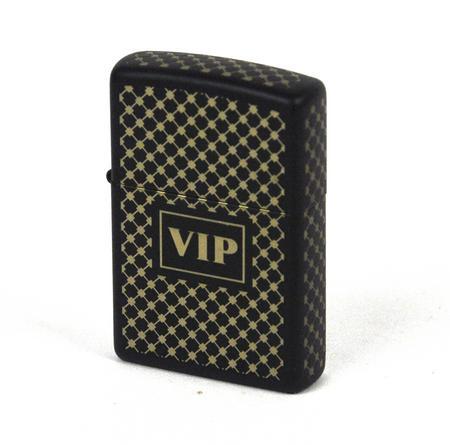 Zippo Vip Black Matte