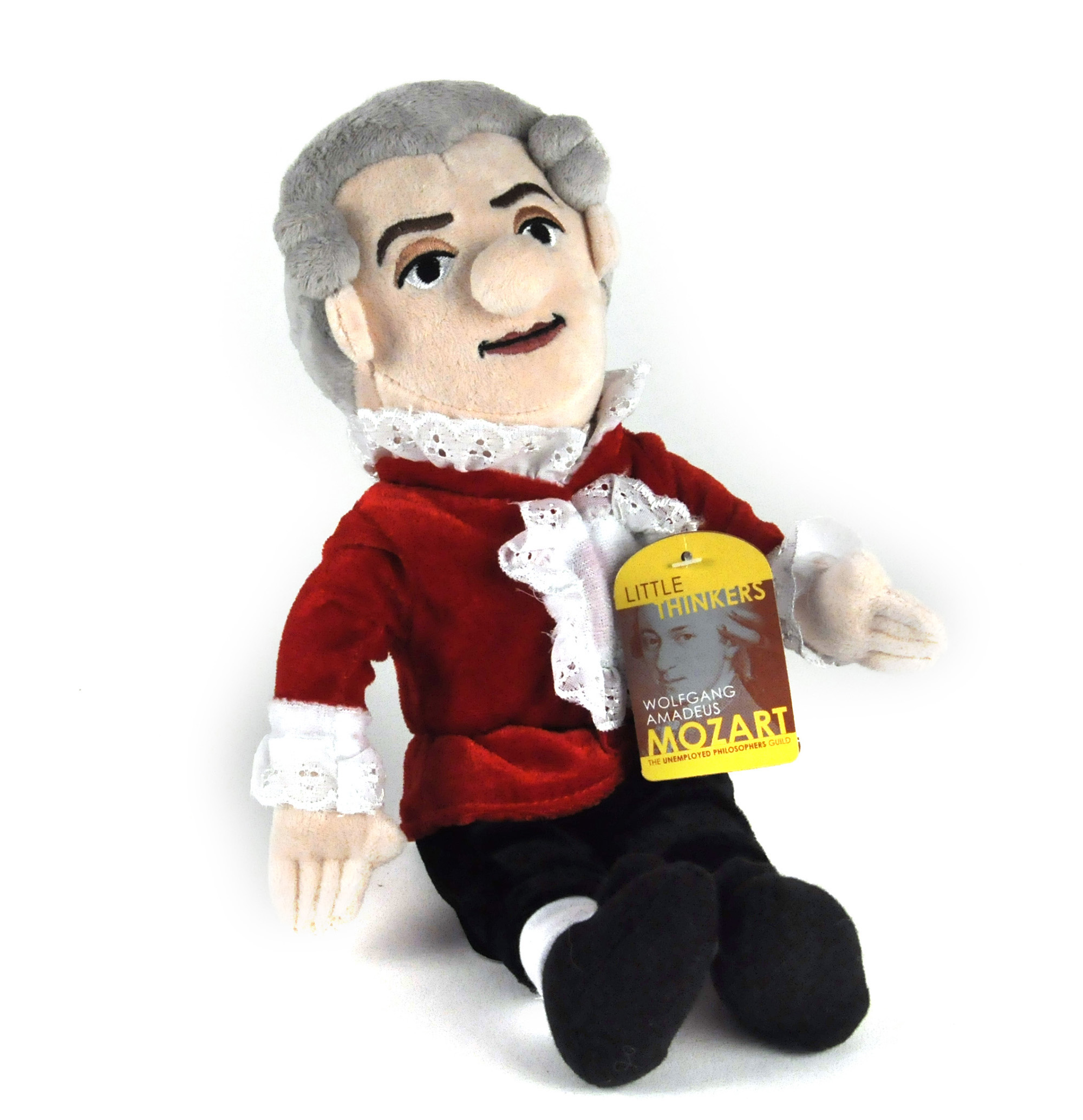Wolfgang Amadeus Mozart Little Thinkers Doll Pink Cat Shop