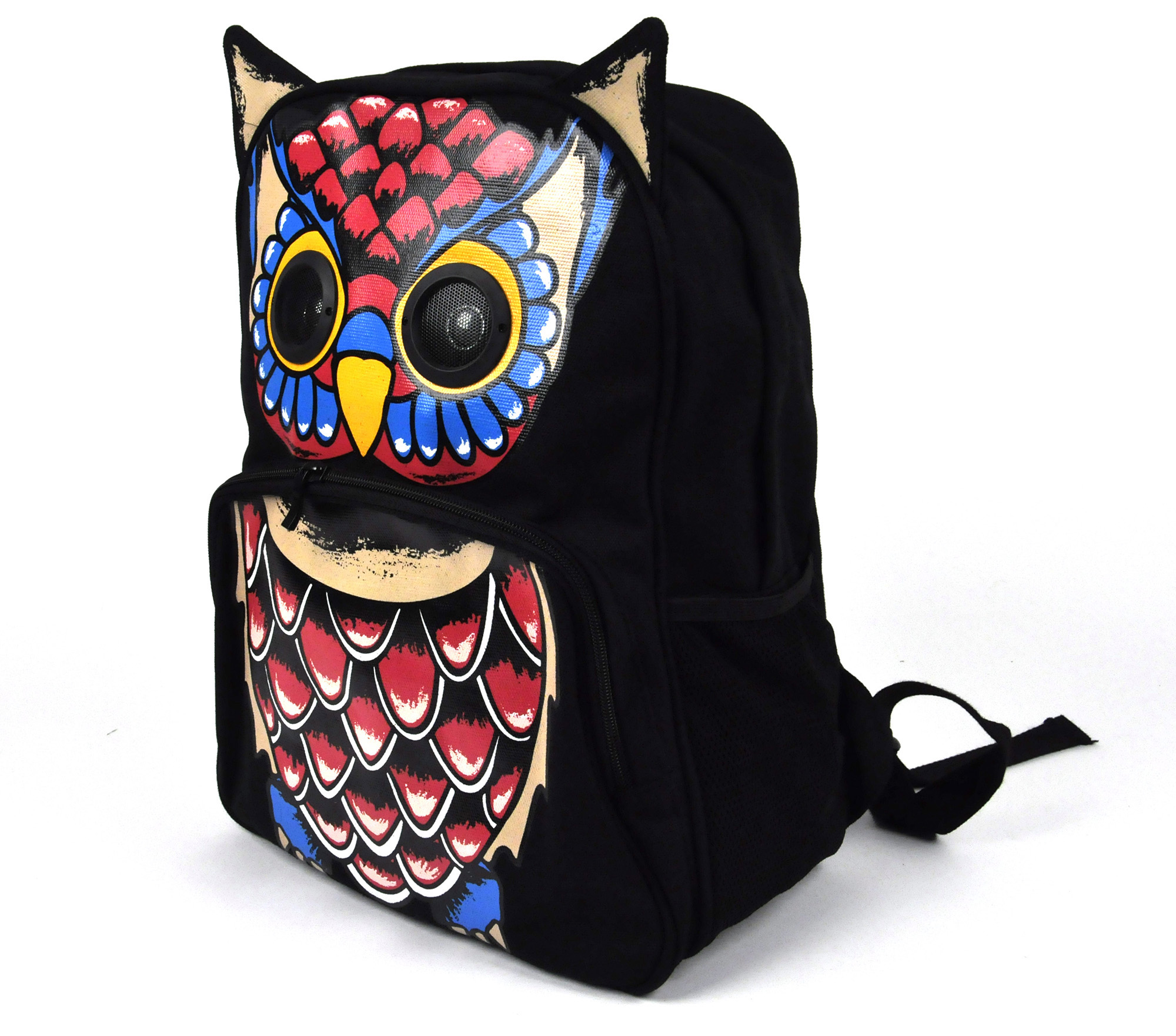 Owl Backpack With Speakers Pink Cat Shop
