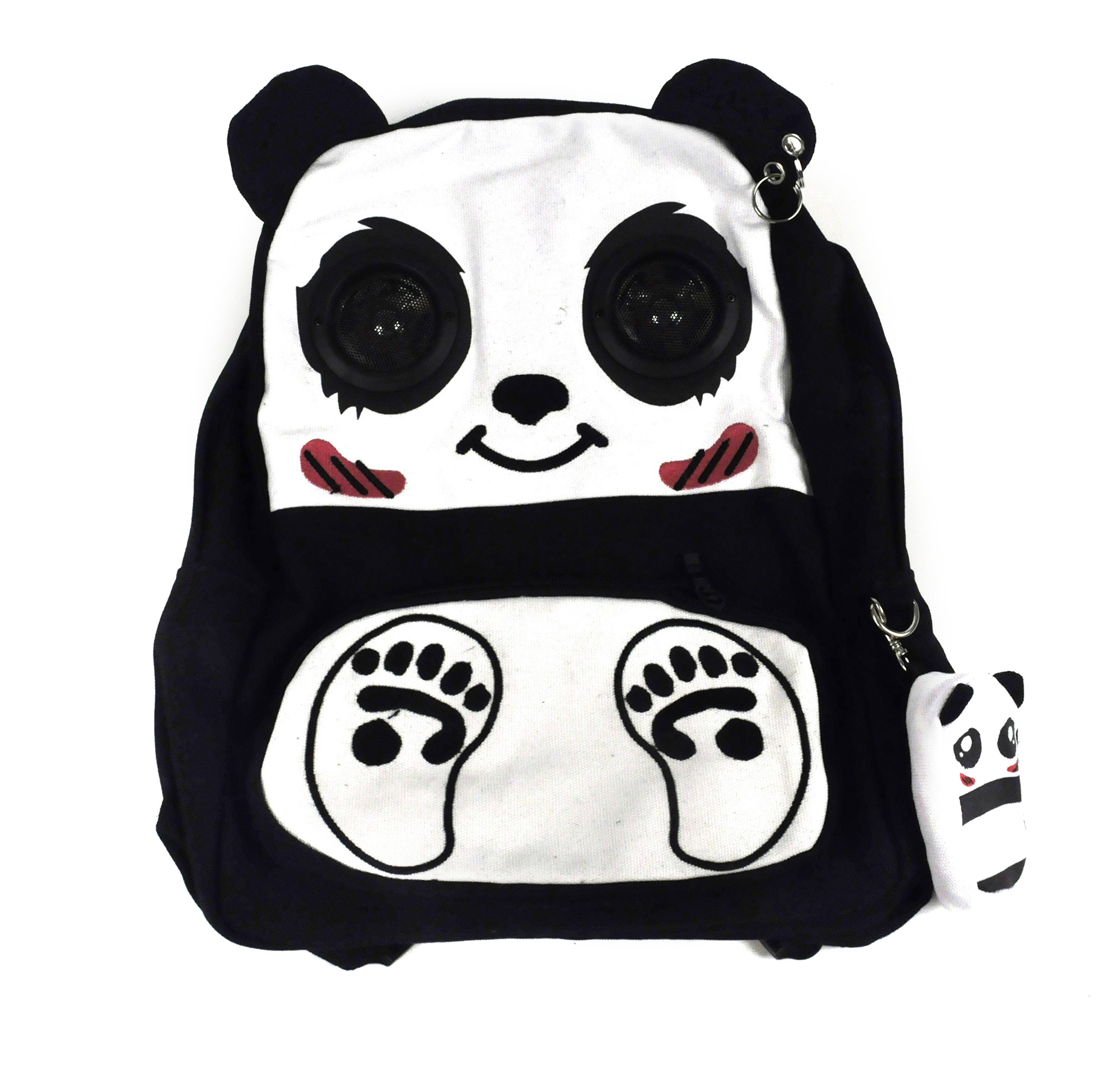 comfortable feel provide plenty of provide plenty of Happy Panda Backpack With Speakers