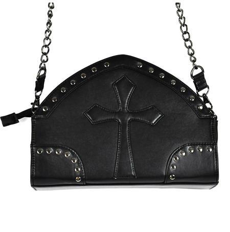 Gothic Crucifix Shoulder Bag