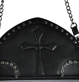 Gothic Crucifix Shoulder Bag Thumbnail 5