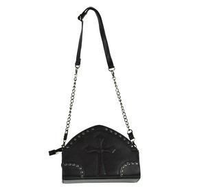Gothic Crucifix Shoulder Bag Thumbnail 6