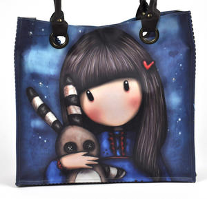 Hush Little Bunny - Large Shopper Bag By Gorjuss Thumbnail 6
