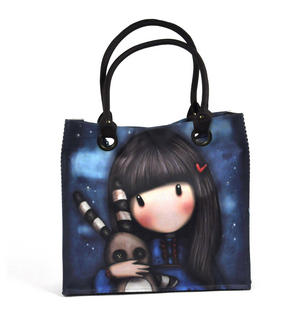 Hush Little Bunny - Large Shopper Bag By Gorjuss Thumbnail 2