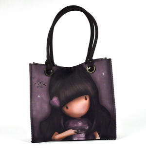 We Can All Shine - Large Shopper Bag By Gorjuss Thumbnail 6