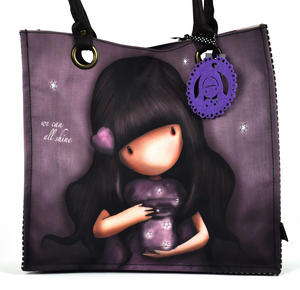 We Can All Shine - Large Shopper Bag By Gorjuss Thumbnail 7