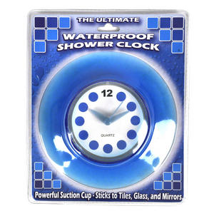 Blue Translucent Shower Clock Thumbnail 1