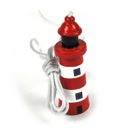Lighthouse Pull Cord 7cm - Random Colours