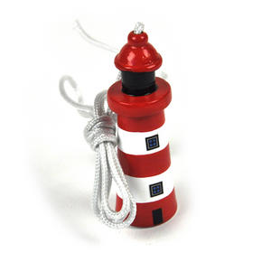 Lighthouse Pull Cord 7cm - Random Colours Thumbnail 1