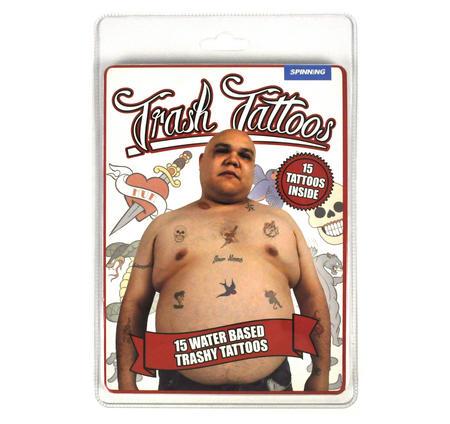 Trailer Trash Fake Tattoos - Male