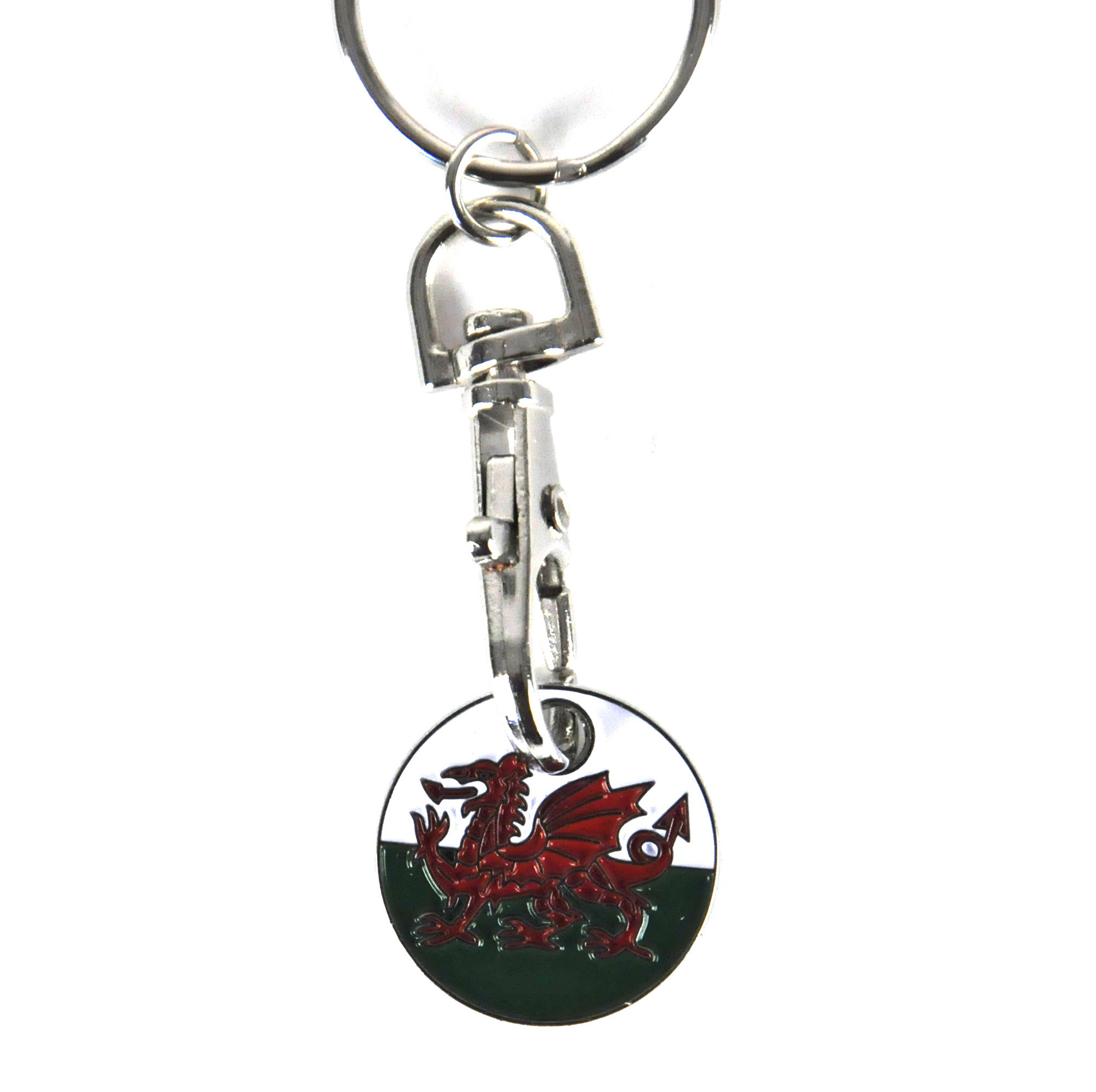 Wales Embroidered Keyring