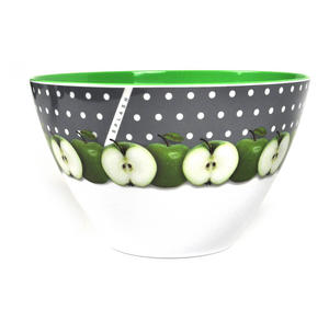 Apples - Large 25cm Diameter Melamine Bowl Thumbnail 2