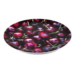 Cherries - 20cm Melamine Side Plate Thumbnail 2
