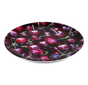 Cherries - 20cm Melamine Side Plate Thumbnail 2