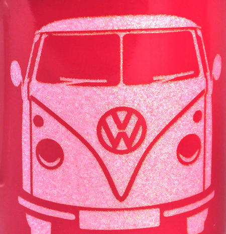Volkswagen Pink Glitter Mug