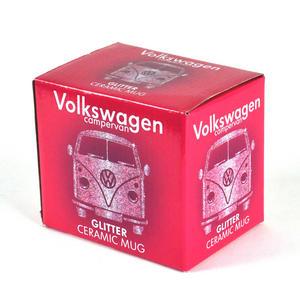 Volkswagen Pink Glitter Mug Thumbnail 3