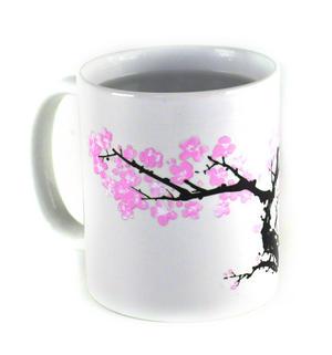 Cherry Blossom - Heat Change Morph Mug Thumbnail 3