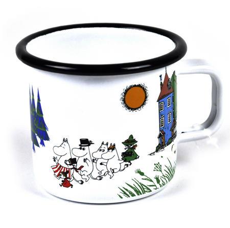 Moomin Valley - Moomin Muurla Enamel Mug