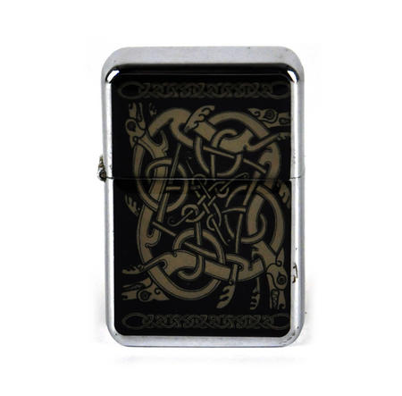 Celtic Windproof Petrol Lighter