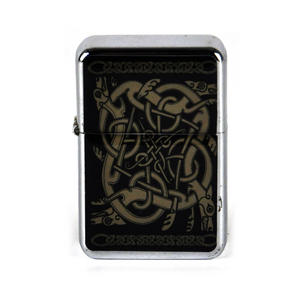 Celtic Windproof Petrol Lighter Thumbnail 1