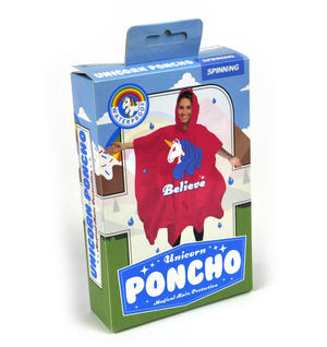 Unicorn Poncho Thumbnail 2