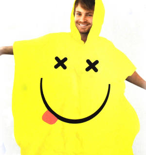 Acid House Rave Poncho
