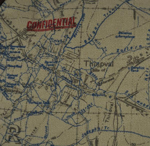 Top Secret 'Your Country' Tough Washbag - Confidential Operations Trench Map Thumbnail 4