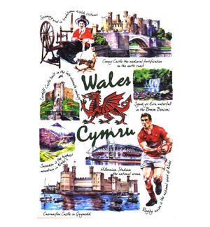 Wales Playing Cards Thumbnail 1