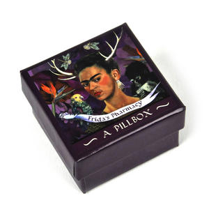 Frida Kahlo Pill Box - Frida's Pharmacy Thumbnail 4