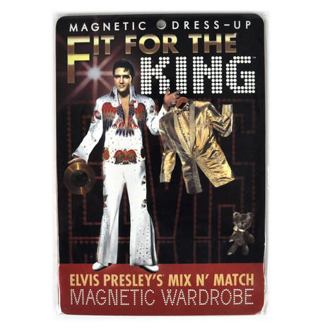 Elvis Presley - Fit For the King - Magnetic Dress Up Wardrobe