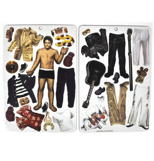 Elvis Presley - Fit For the King - Magnetic Dress Up Wardrobe Thumbnail 3
