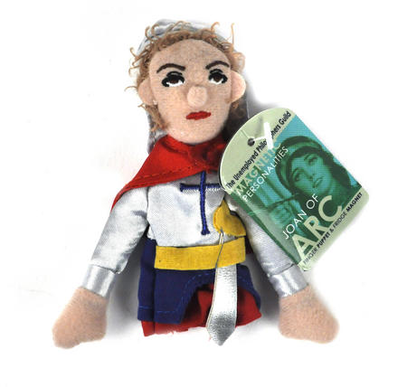 Joan of Arc Finger Puppet & Fridge Magnet