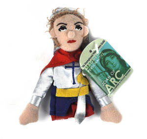 Joan of Arc Finger Puppet & Fridge Magnet Thumbnail 1