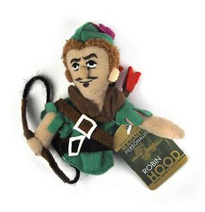 Robin Hood Finger Puppet & Fridge Magnet Thumbnail 1