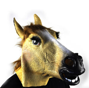Lady Horse - Lifesize Head Mask Thumbnail 2