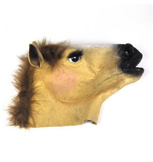 Lady Horse - Lifesize Head Mask Thumbnail 6