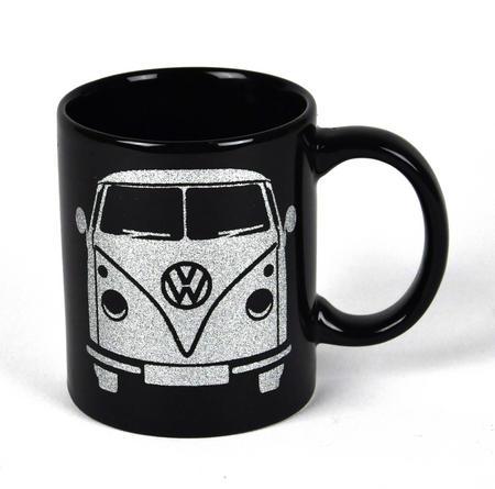 Volkswagen Black Glitter Mug