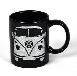 Volkswagen Black Glitter Mug Thumbnail 1