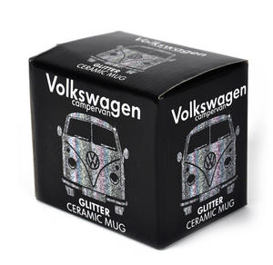 Volkswagen Black Glitter Mug Thumbnail 2