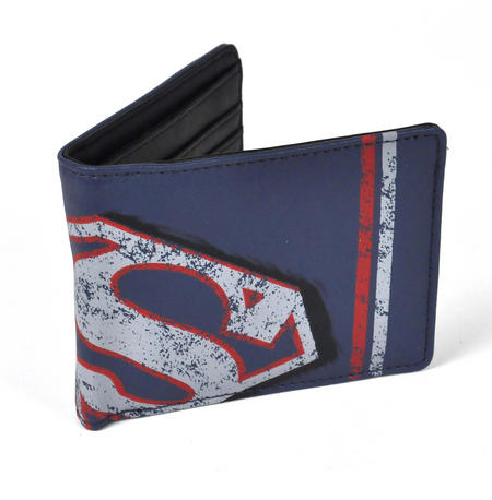 Superman Distressed Logo Wallet