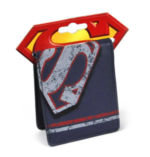 Superman Distressed Logo Wallet Thumbnail 2