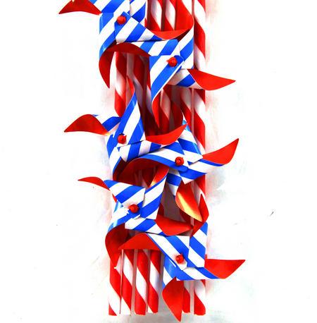 Pinwheel Paper Straws (Pack of 6)