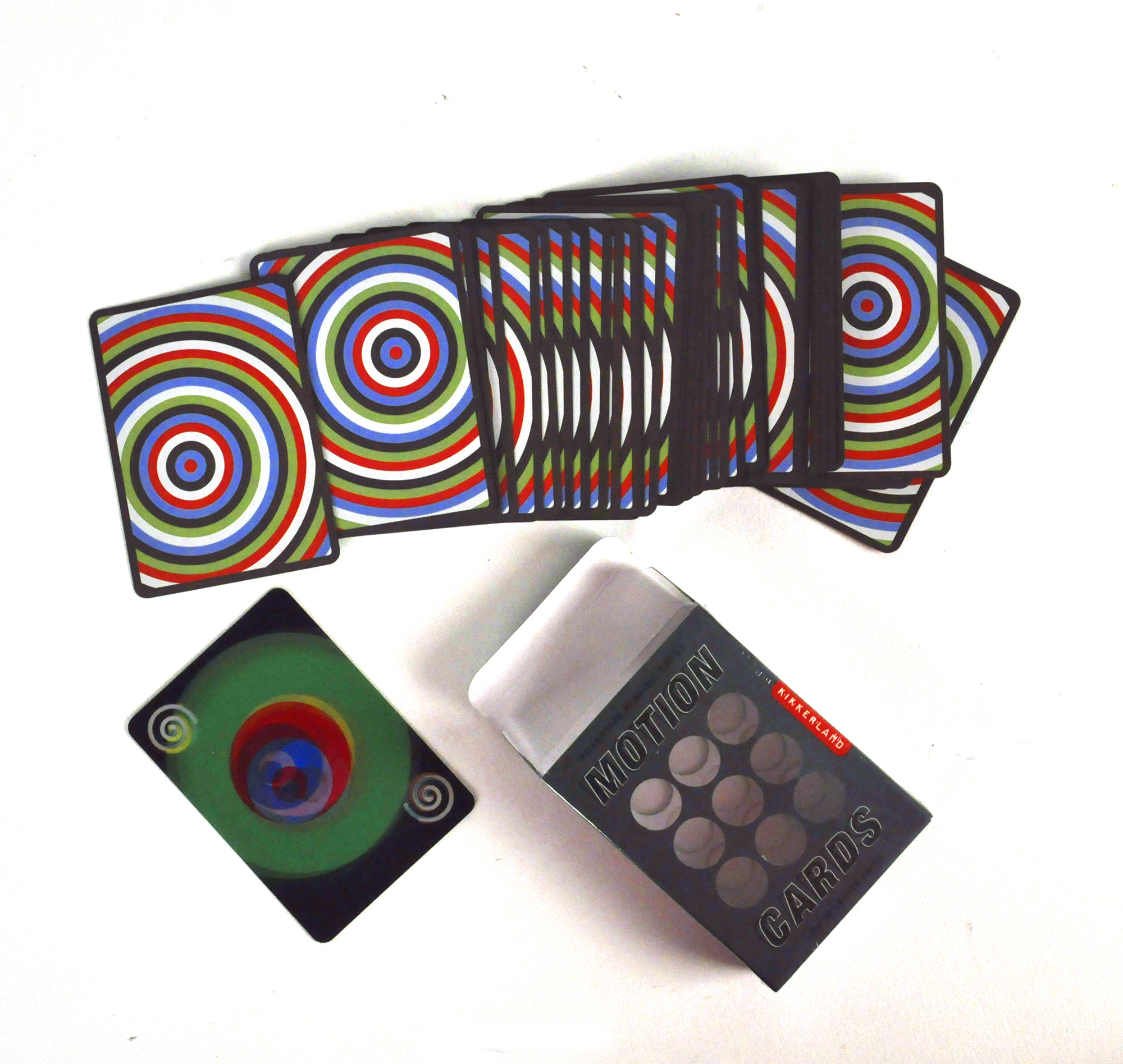 Best Travel Mugs >> Motion Poker Playing Cards - Optical Effects | Pink Cat Shop