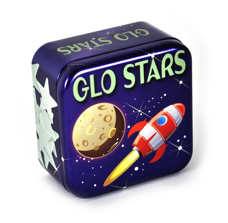 Glo Stars - Tin Of Glow Stars