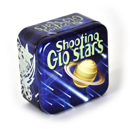 Shooting Glo Stars - Tin Of Glow Planets & Stars