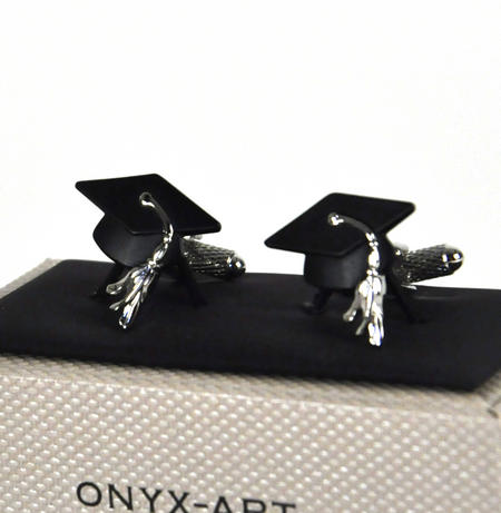 Cufflinks - Graduate Mortar Board